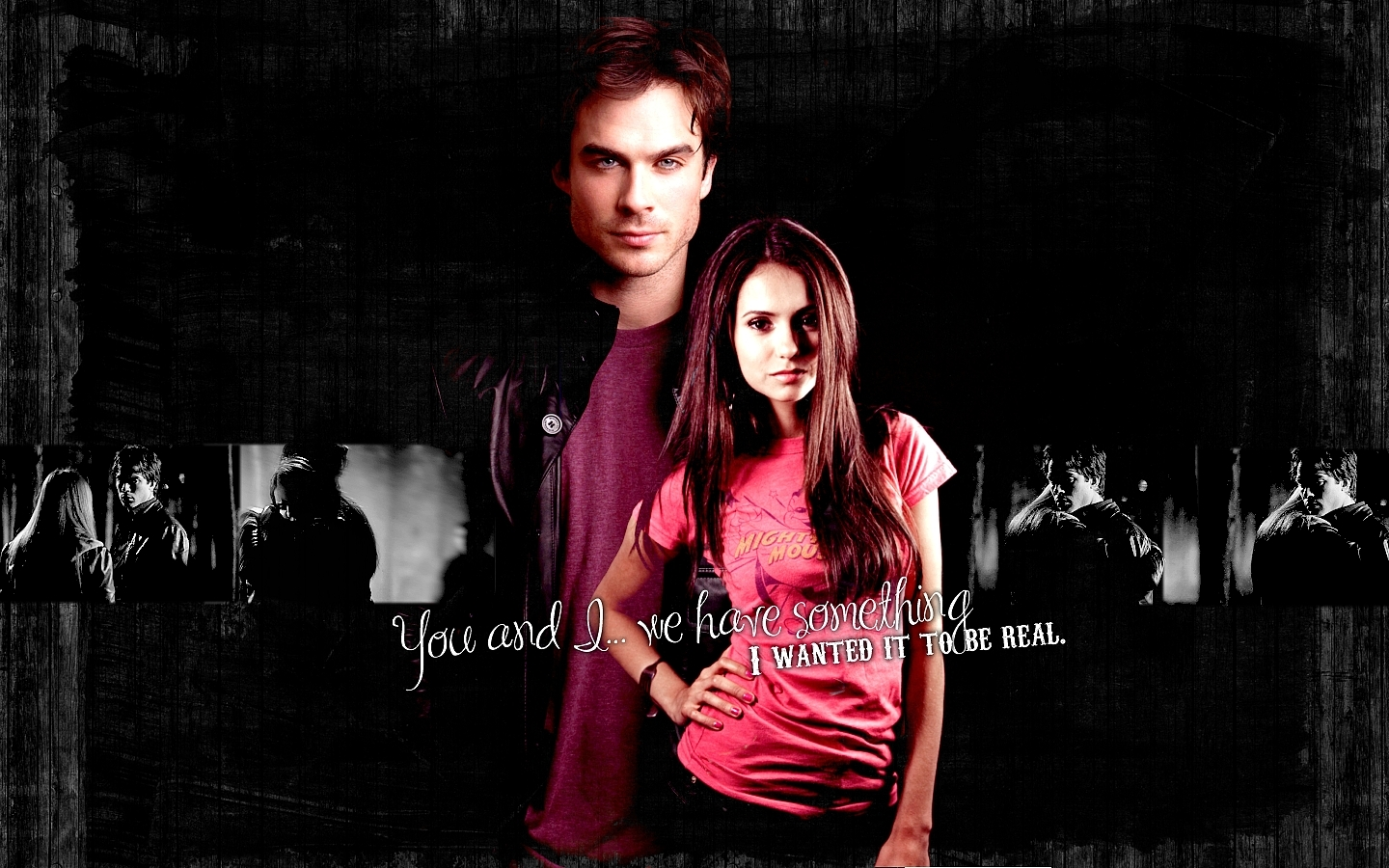 vampire diaries damon and elena dating in real life