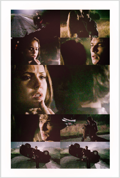 Delena scenes - damon-and-elena fan art