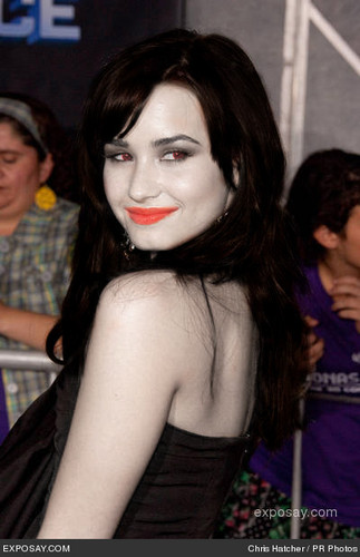 Demi Lovato as a Vampire