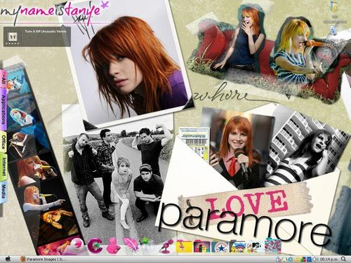 Paramore wallpaper entitled DesktopParamore.