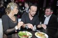 Doda with Nergal & manager- Party of Polsat / eating