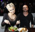 Doda with Nergal - Party of Polsat / eating