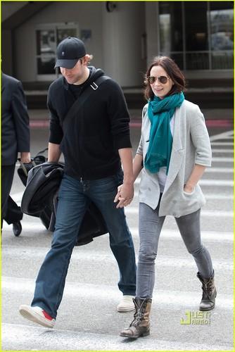 Emily & John @ LAX