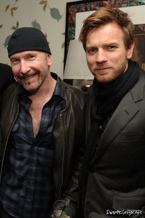 "Ewan at the Screening of ""The Ghost Writer"" (New York, United States) - February 18,"