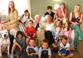 Family portrait - cheaper-by-the-dozen photo