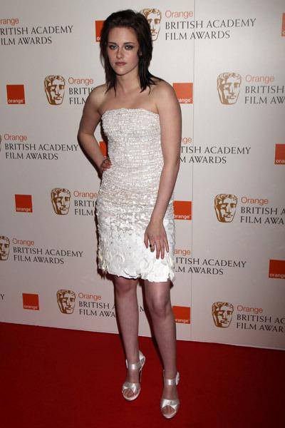 First Pics of Kristen Stewart in Bafta's awards!
