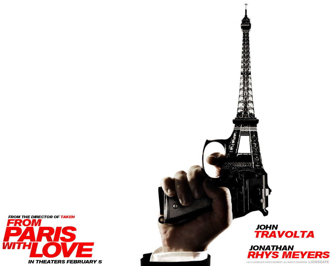 From Paris with Love (2010) - Upcoming Movies Wallpaper ...