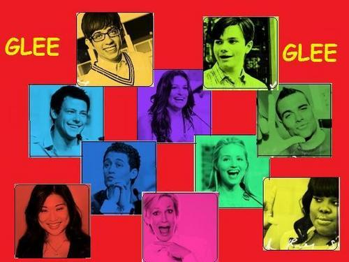glee cast <3