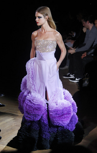 Givenchy Spring / Summer Haute Couture Runway Show - natalia-vodianova Photo