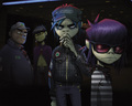 Gorillaz - gorillaz wallpaper