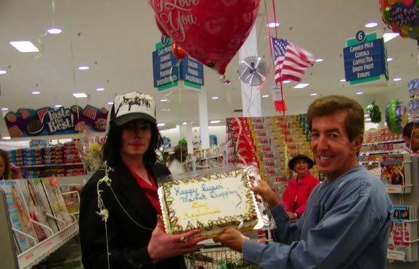 Happy Super Market Shopping Cake