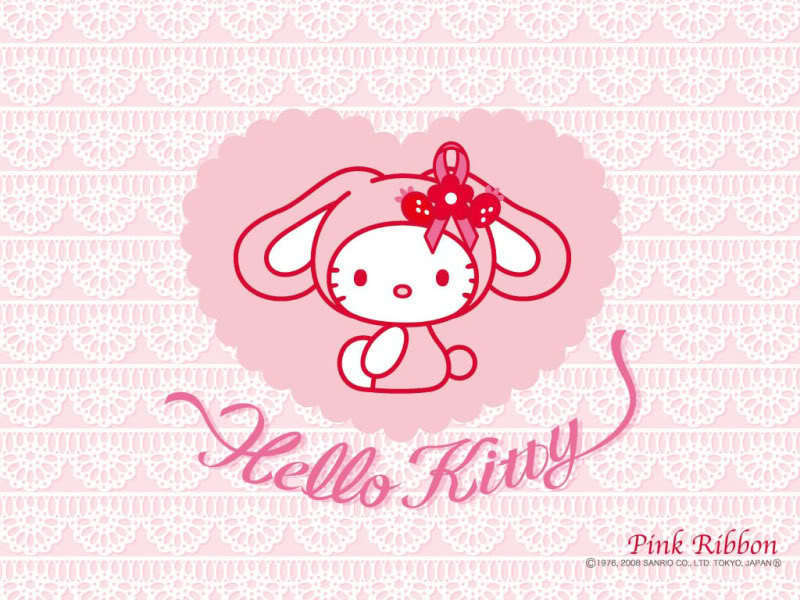 hello kitty pink wallpaper. Hello Kitty Wallpaper