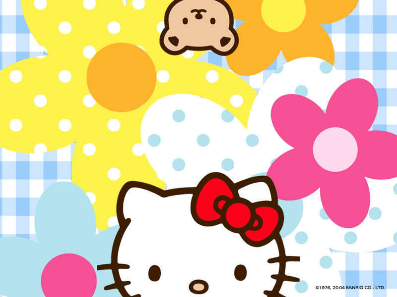 wallpaper hello kitty. Hello Kitty Wallpaper