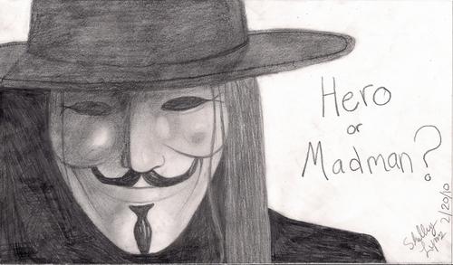 I drew V