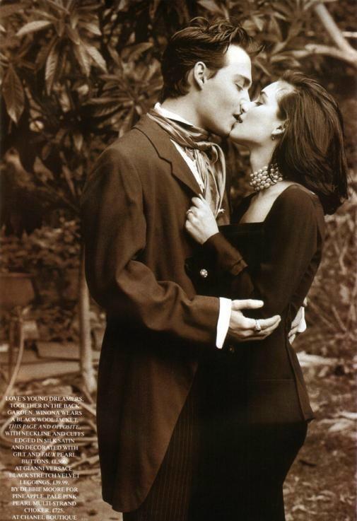 Johnny & Winona - JOHNNY DEPP & WINONA RYDER Photo ...