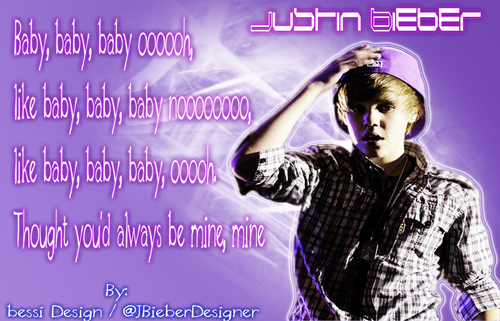 Justin Bieber Designed Von @JBieberDesigner...