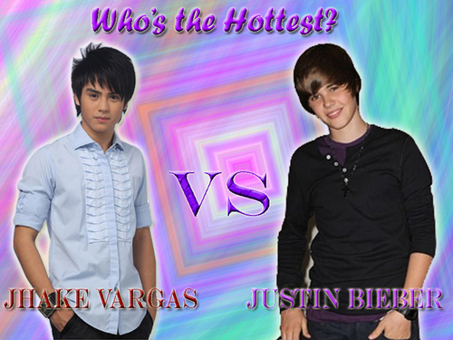 Justin Bieber and Jhake Vargas
