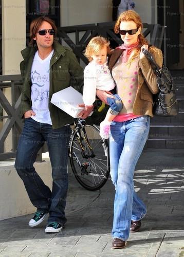Keith, Nicole and Sunday Rose