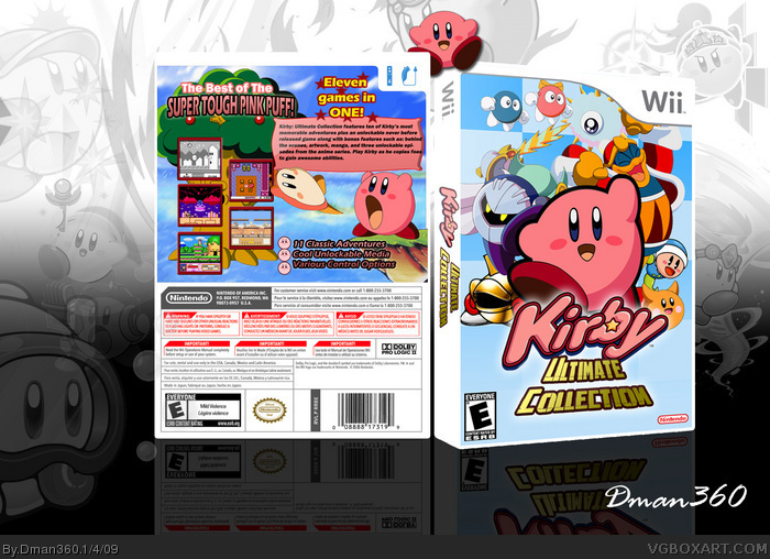 Kirby Wii Covers