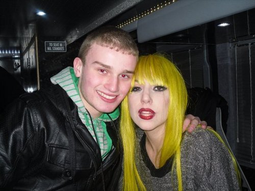 Lady GaGa Meets fan In Belfast
