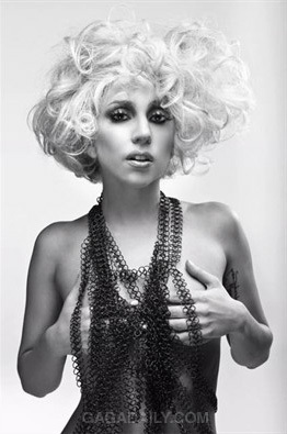 Lady GaGa фото Shoots By John Wright For Q Magazine