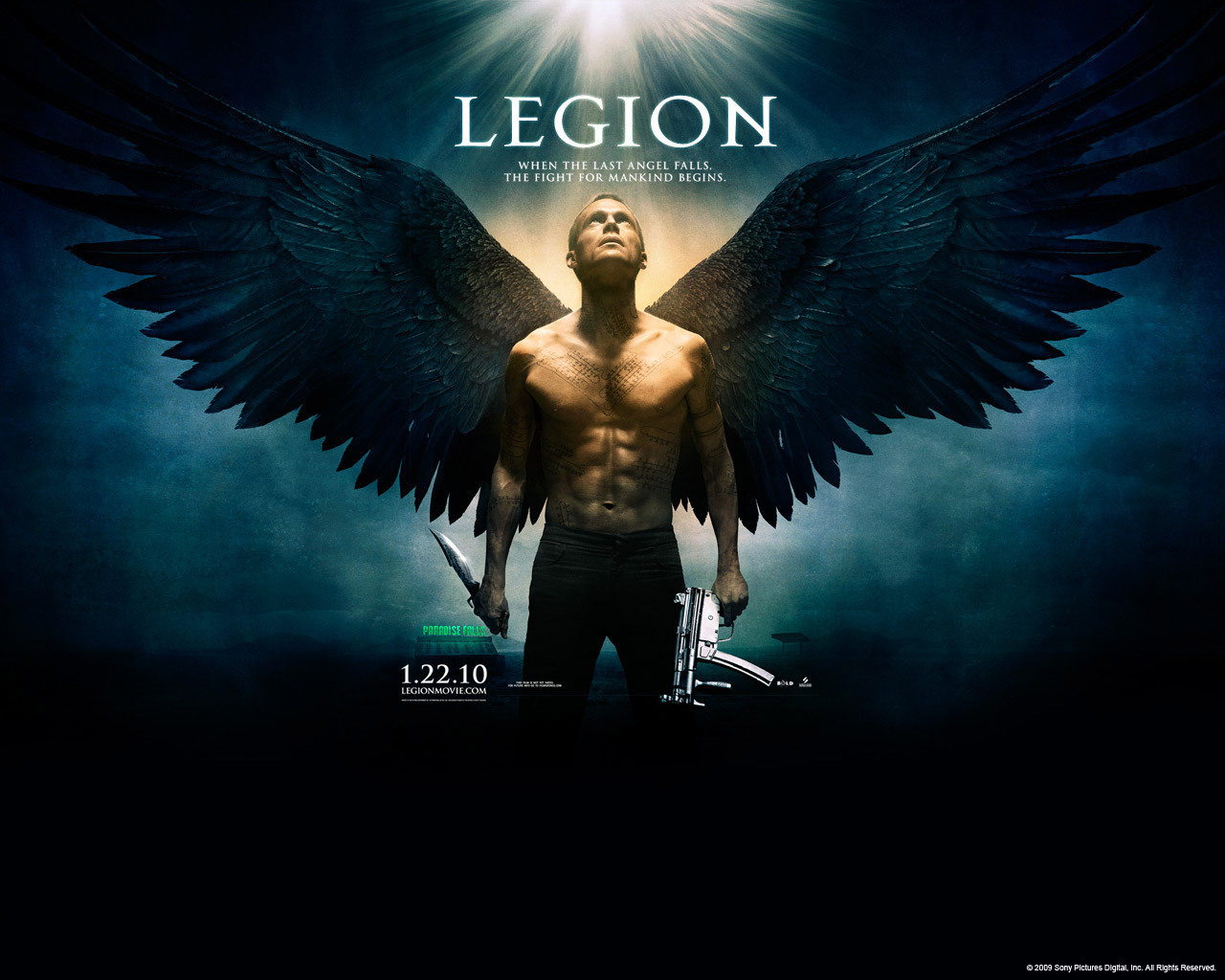 2010 legion movie wallpapers - photo #5