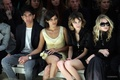 London Fashion Week Spring/Summer 2010 - burberry Front Row