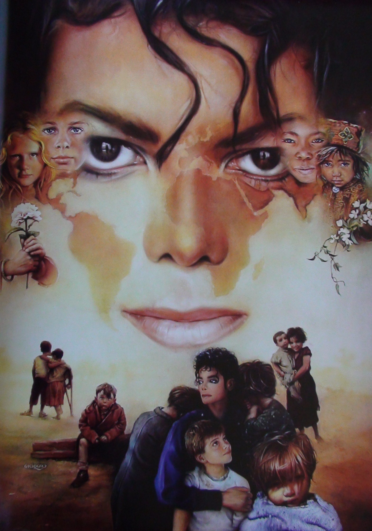 DIA DE LA TIERRA HOMENAJE PARA MIKE MJ-paintings-michael-jackson-10531174-1569-2235
