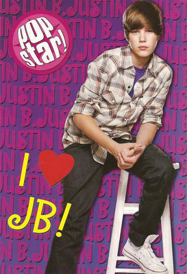 Justin Bieber wallpaper called Magazine Scans > 2010 > Popstar! (March/April 2010)