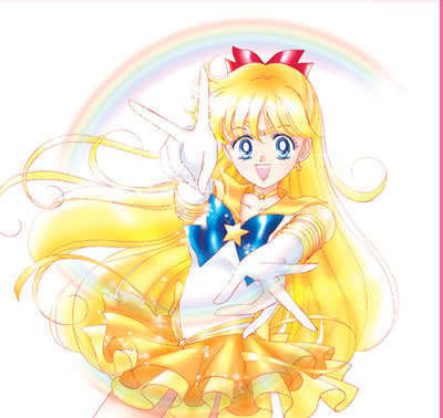 sailor mercury manga cover  Manga style Sailor Venus -