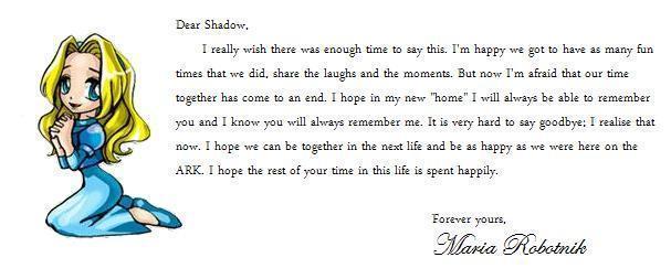 Maria's Goodbye