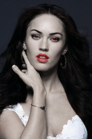 Megan Fox as a Vampire