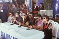 Michael Jackson and jackson brothers - michael-jackson photo