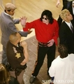 Michael Visiting Indiana - michael-jackson photo
