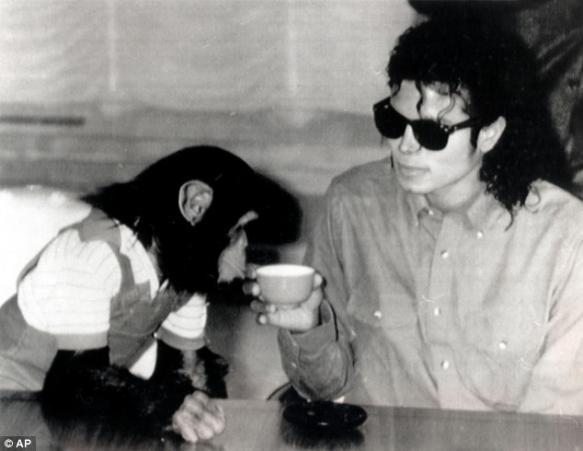 Michael with Bubbles