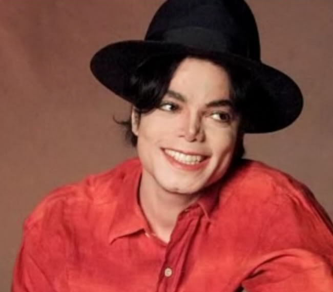 Mike In Red - michael-jackson photo