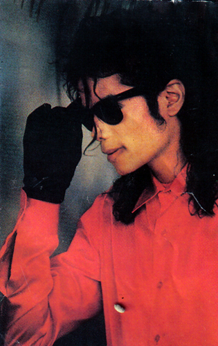Mike In Red