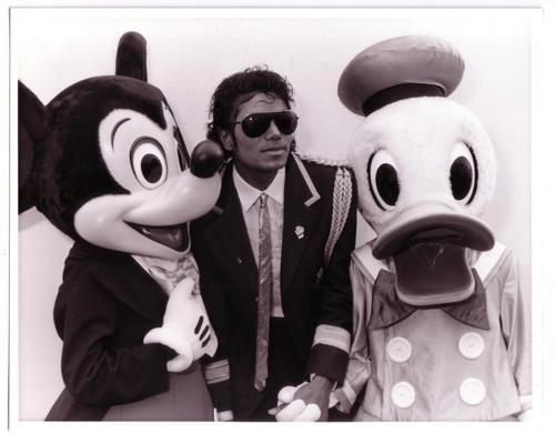 Mike, Mickey, and Donald