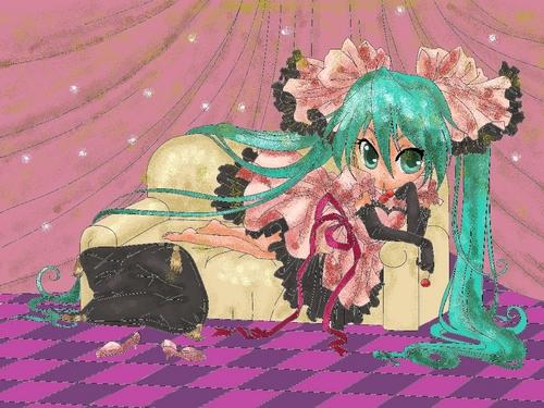 Miku hatsune world is mine