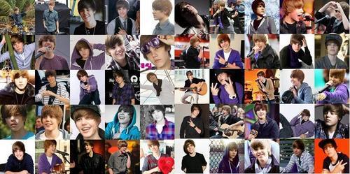Montagem Justin Bieber