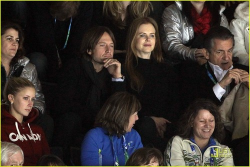 Nicole & Keith @ 2010 Olympic games