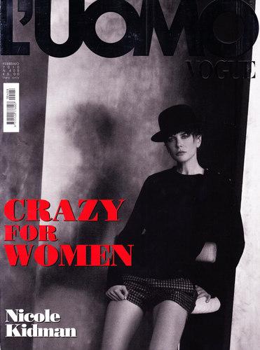 Nicole in L'Uomo Italian Men's Vogue