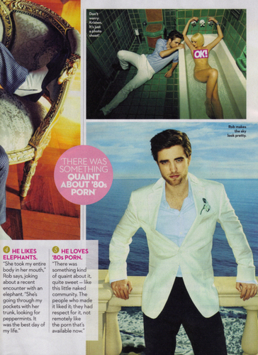 OK MAGAZINE ON ROBERT PATTINSON SCANS