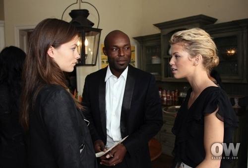 Olivia @ Haiti Relief ব্রাঞ্চ [February 7]