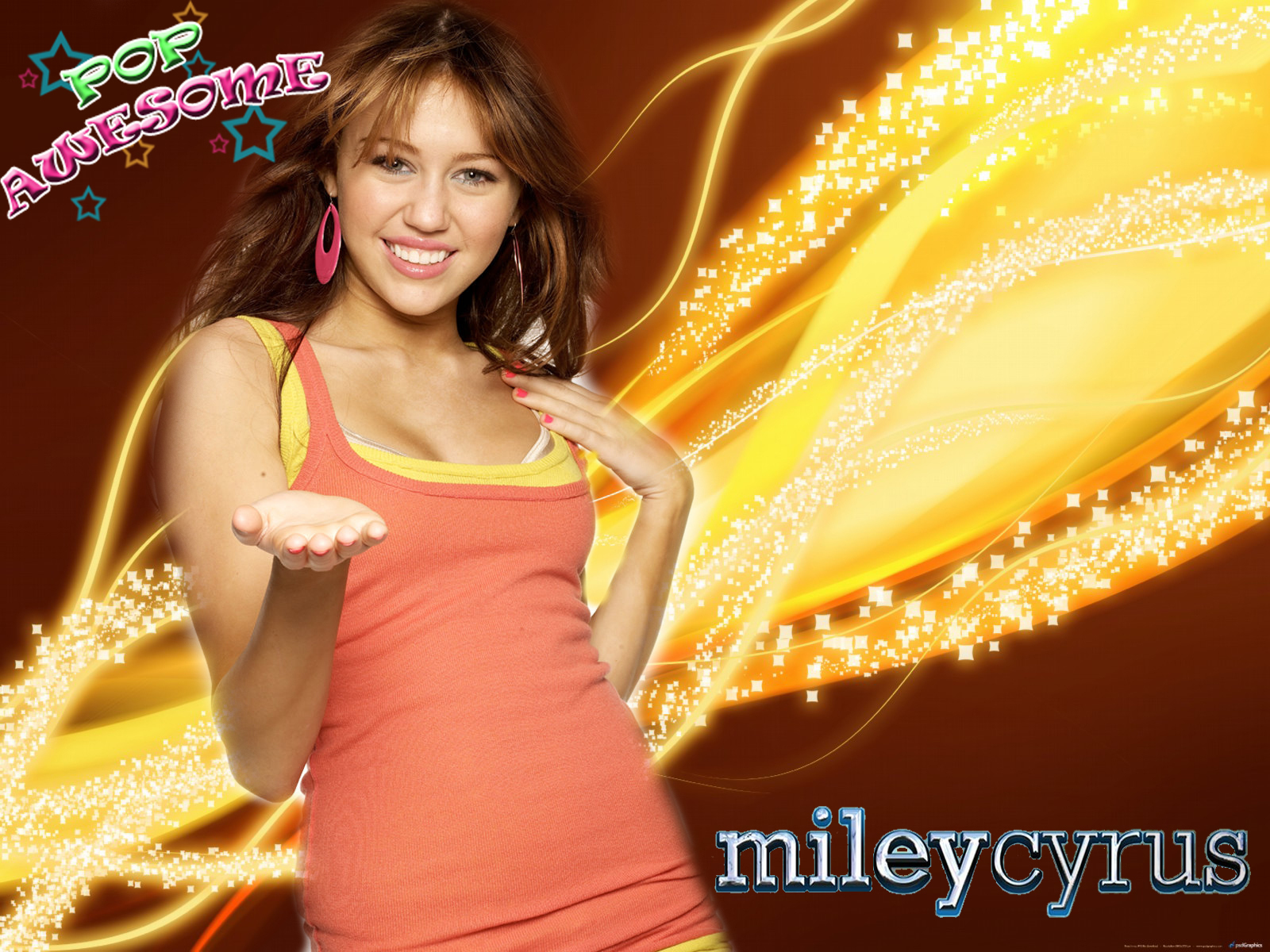 POP AWESOME- EXCLUSIVE pics of MILEY CYRUS - miley-cyrus wallpaper