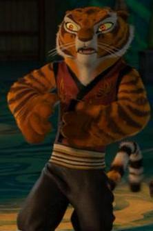 Princess शेरनी, बाघ