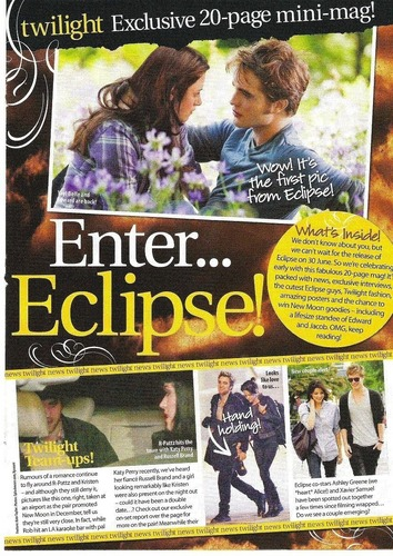 "Robert Pattinson & Eclipse In ""Teen Now"" Magazine"