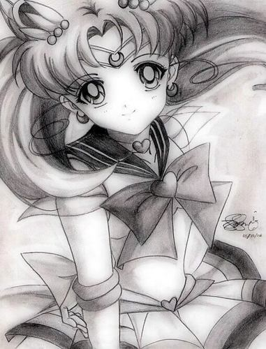 Sailor Mini moon (Rini) wallpaper called Sailor Chibi Moon (Rini)
