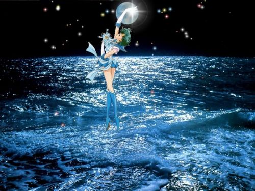 Sailor Mercury 壁纸