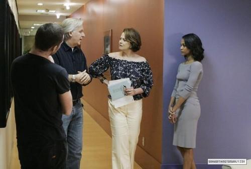 Sam & 阿凡达 Cast Taping Oprah Winfrey's 显示 on 20th February 2010